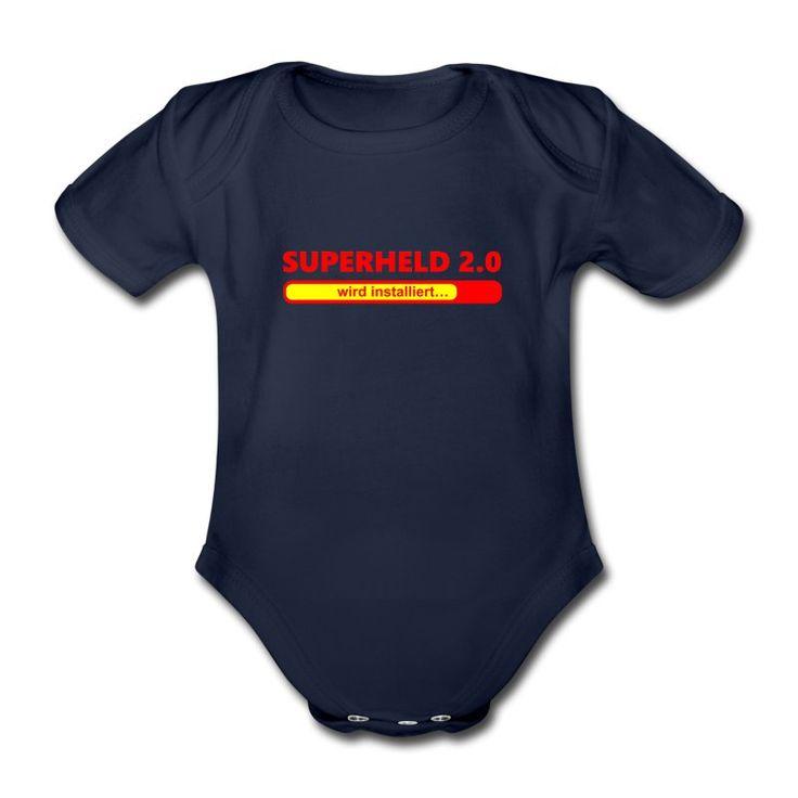 T-Shirts, Langarm-Shirts, Kapuzenpullover und andere Produkte mit dem 'Installiere Superheld 2.0' Design