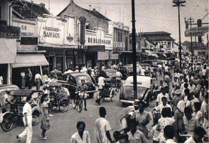 Pasar Baru end of 1940