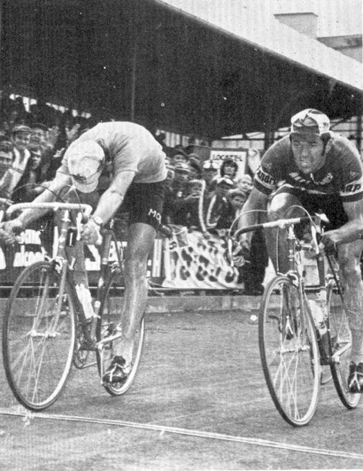 1971 Tour de France, etapa 2 Eddy Merckx y Roger de Vlaeminck