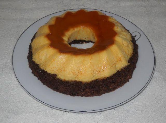 Prajitura cu crema de zahar ars - Bunătăți din bucătăria Gicuței