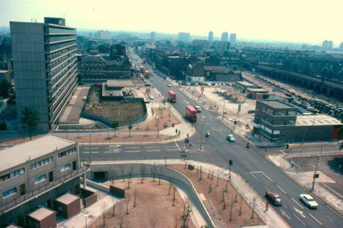 The Heygate Estate, London, in 1975