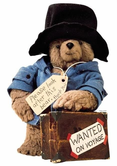 Paddington Bear. One of my childhood favourites!!
