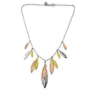 Multi Feather Necklace