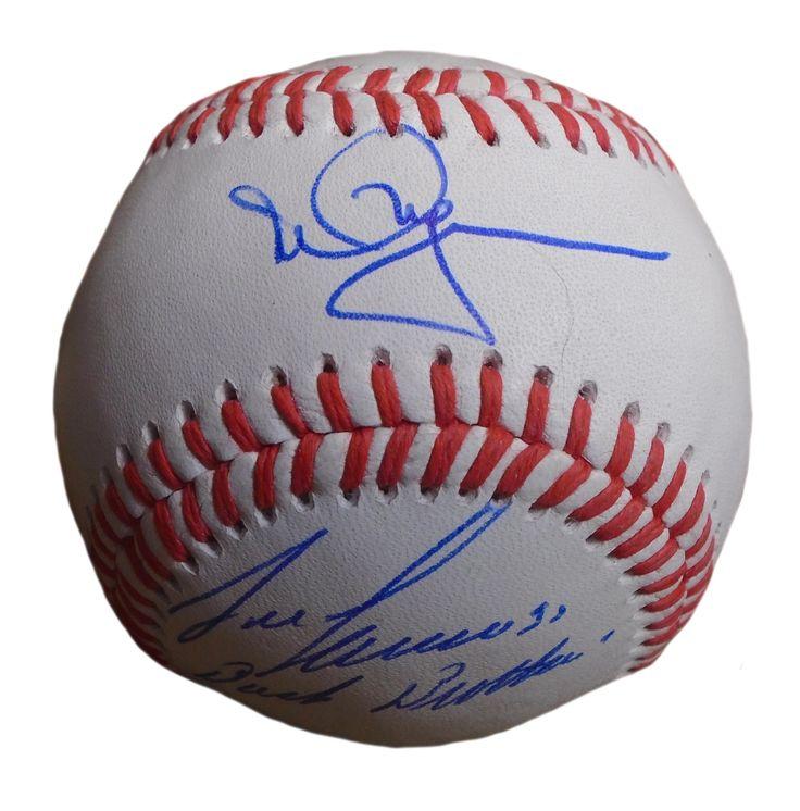 Jose Canseco & Mark McGwire Autographed Rawlings ROLB1 Leather Baseball w/ Inscription, Proof Photo  #JoseCanseco #MarkMcGwire #BigMac #BashBrothers #1989WSChamps #1989WorldSeriesChamps #1989WS #1989WorldSeries #WorldSeries #WS #AllStar #AllStarGame #ASG #OaklandAs #OaklandAthletics #Oakland #Athletics #As #GreenandGold #GreenCollar #LetsGoOakland #MLB #Baseball #Autographed #Autographs #Signed #Signatures #Memorabilia #Collectibles #FreeShipping #BlackFriday #CyberMonday…