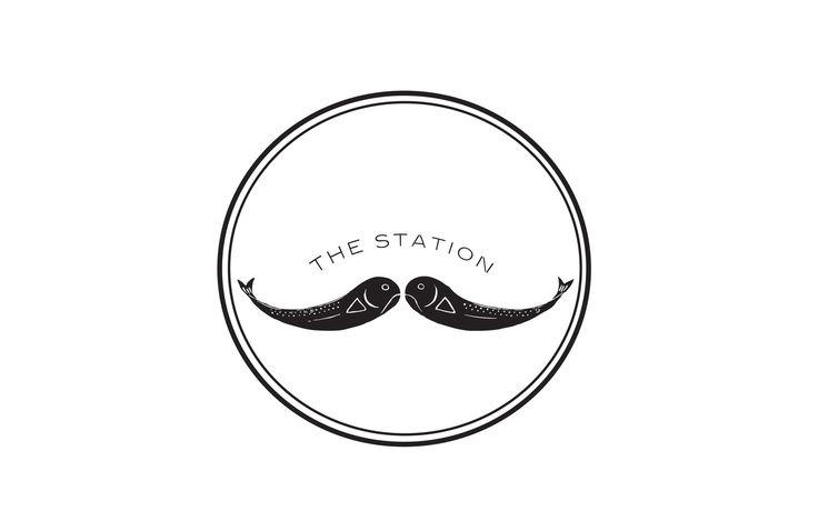 The Station,North Fork, New York,logo design