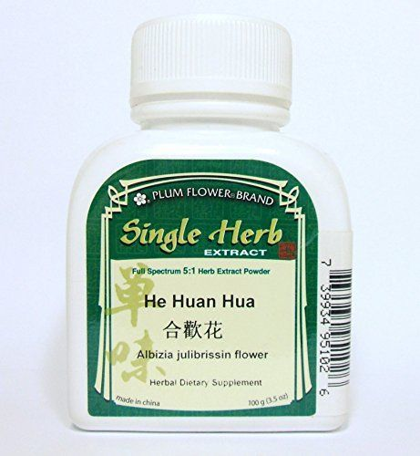 Albizia Julibrissin Flower Herb Extract Powder  He Huan Hua 100g or 35oz * Want additional info? Click on the image.