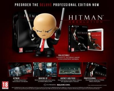 Hitman Absolution Deluxe Professional Edition (PS3)