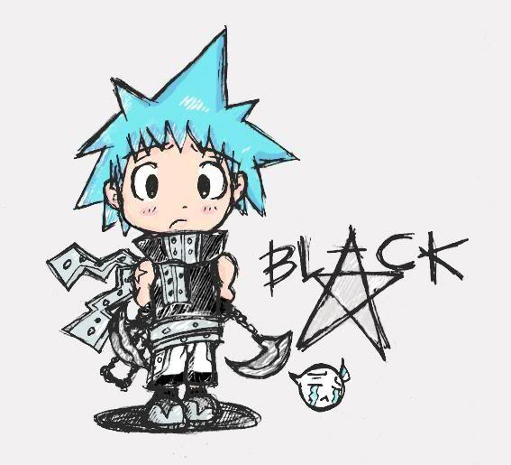 black star soul eater chibi - photo #7