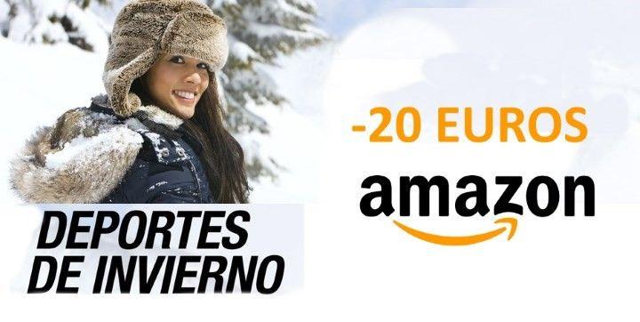 chollo amazon 20 euros decuento deportes de invierno