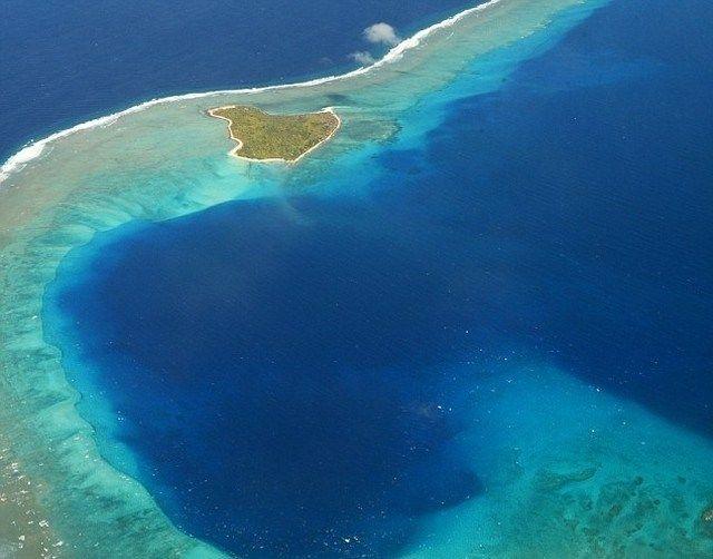 7 – Atol de Bikini, nas Ilhas Marshall