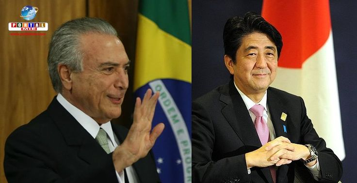 Dia 19/out, o presidente Michel Temer se encontrará com o Imperador Akihito e com o primeiro-ministro Shinzo Abe.