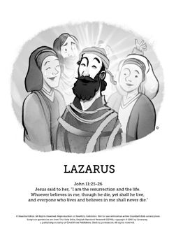 Lazarus Comes Back From The Dead Jesus Has Power Over Life And Death In