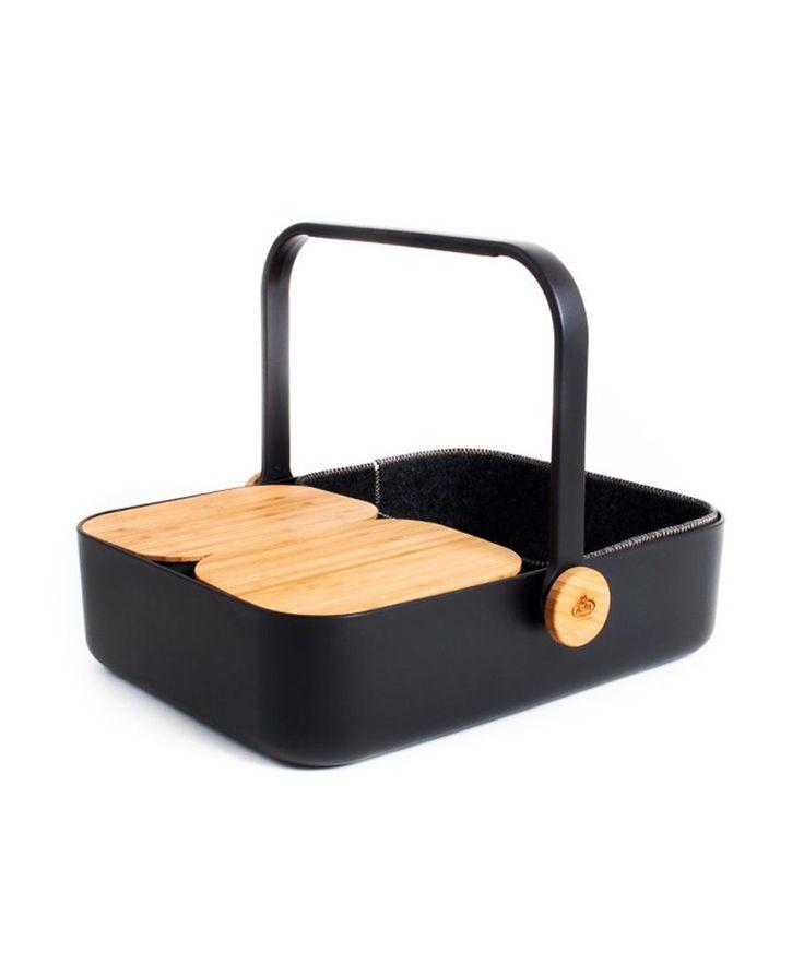 Basket and Designer Tray /