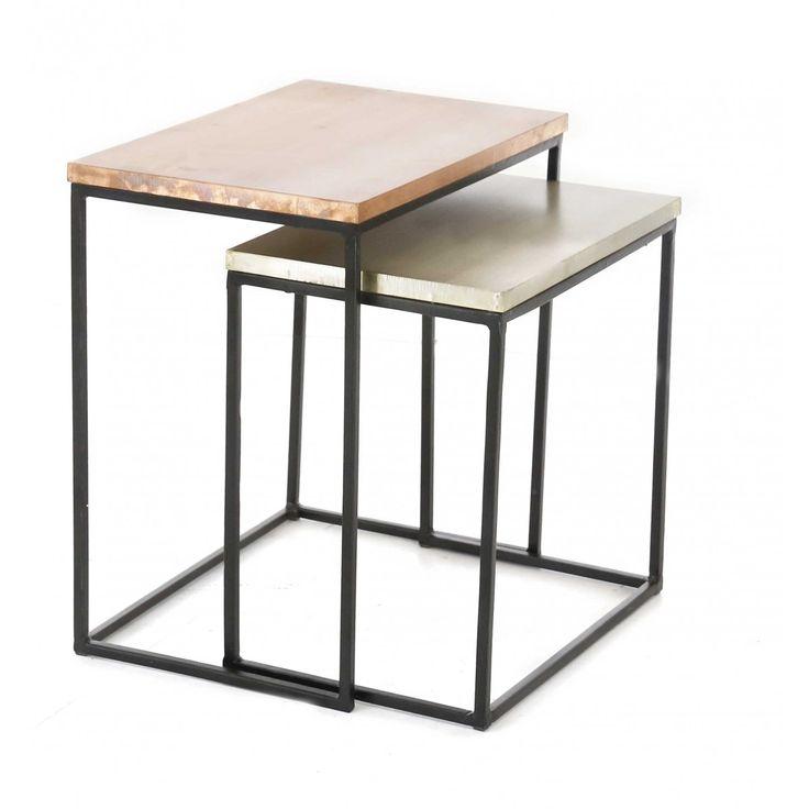 Table Basse Rectangulaire Scandinave ~ Com Tables Basses Design Table Loft Metals Forward Table Basse