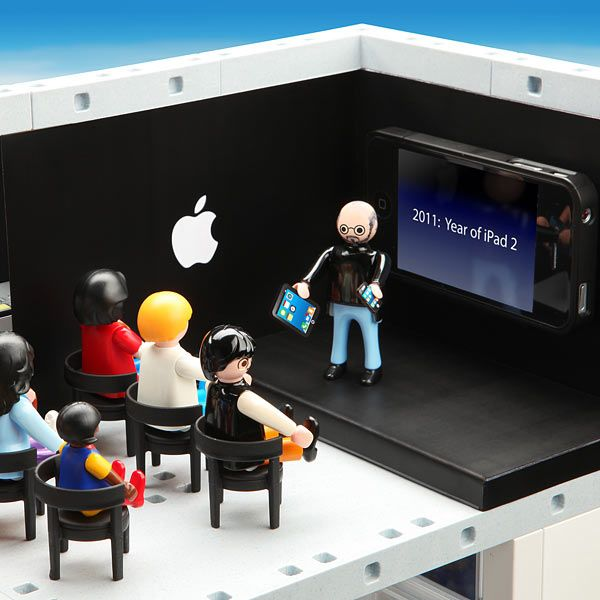 Steve Jobs and Apple stores launched as kids toys!