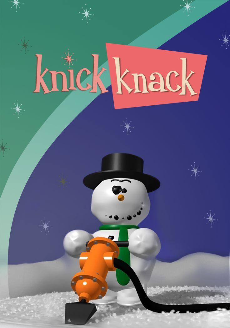 Knick Knack, Pixars excellent 1989 short feature.