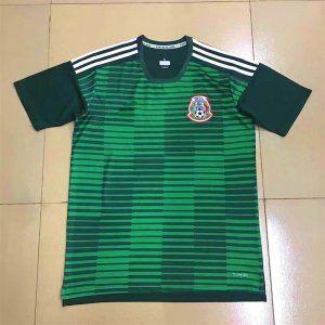 2018 world cup jersey mexico replica green training shirt bfc334