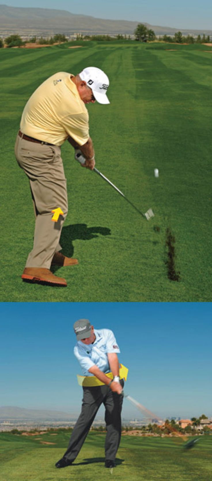 Golf Instruction and Golf Lessons using HD Golf 3D Simulators