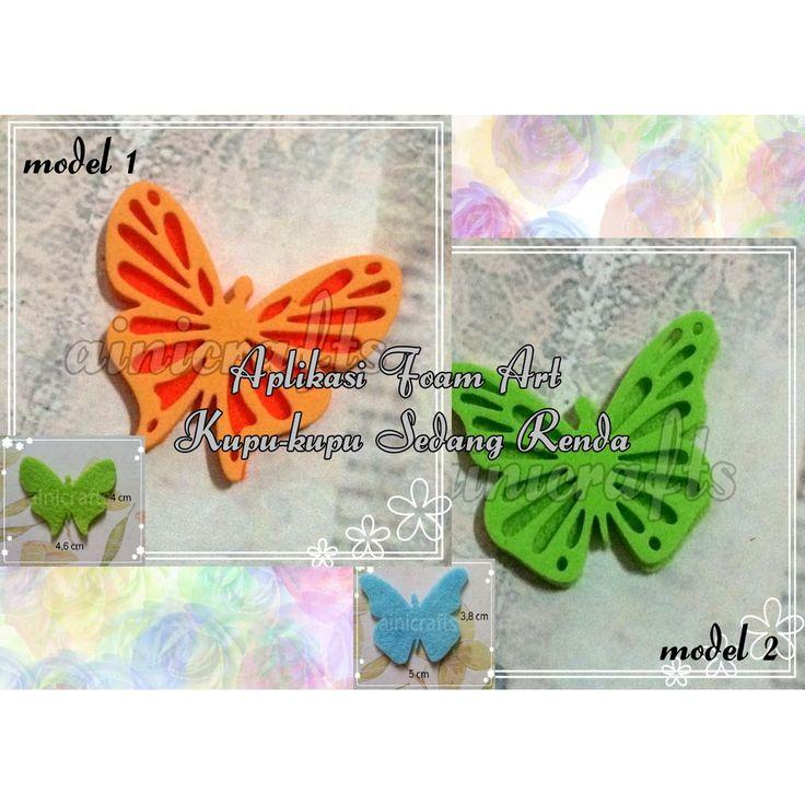 Temukan dan dapatkan Aplikasi Foam Art Kupu-kupu Sedang Renda hanya Rp 3.500 di Shopee sekarang juga! http://shopee.co.id/vanidiana/29628105 #ShopeeID