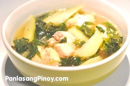 Easy Chicken Tinola w/Chayote & Spinach. ✔️DONE. Delicious!!!