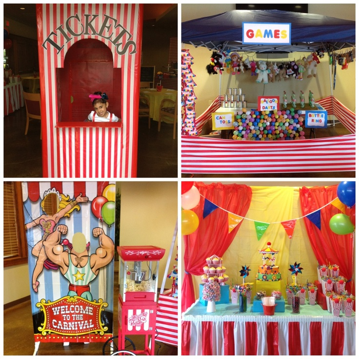 1000 images about carnival bday party on pinterest for Circus themed bedroom ideas