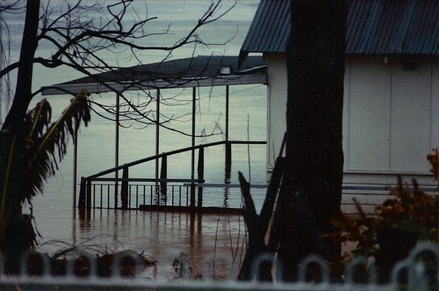 Georges River flooded 1986