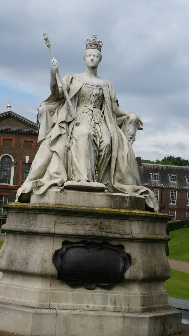 Kensington Palace and Queen Victoria.