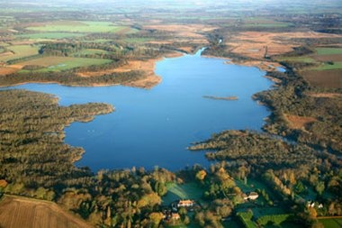 Norfolk Wildlife Trust - Barton Broad. Barton Broad is the largest Broad in the Ant Valley. It is a man-made landscape impacted by natural processes - the open water is a result of flooded peat diggings.