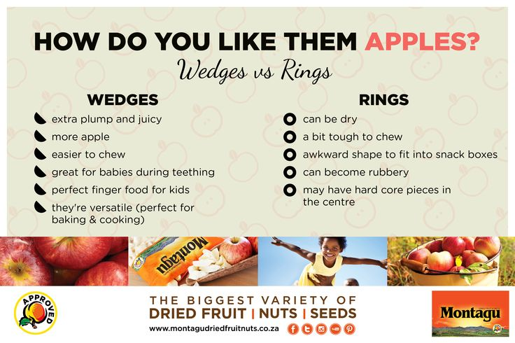 Apple wedges versus apple rings… They're both delicious, but which comes out on top?  What's your favourite? http://bit.ly/24LueYV