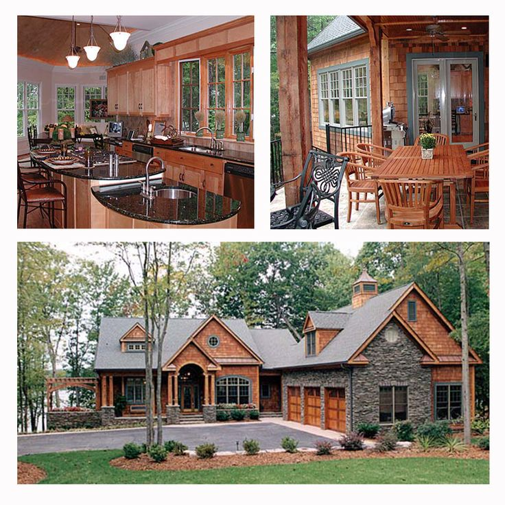 Craftsman style hillside house plan 85480 is positioned on for Steep hillside house plans