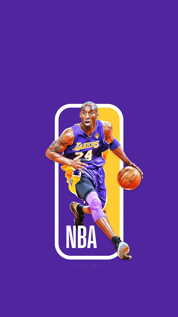 The Next Nba Logo Nba Logoman Series On Behance Kobe Bryant