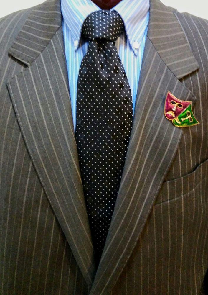 GIORGIO ARMANI Black Hologram Dots\White Polka Dots 100% Silk Men's Tie Italy  #GiorgioArmani #NeckTie