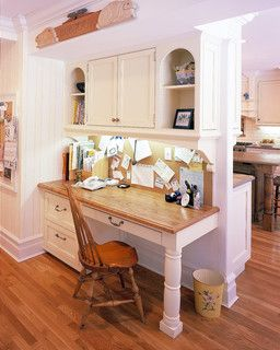 New Canaan, Ct. Kitchen Desk area