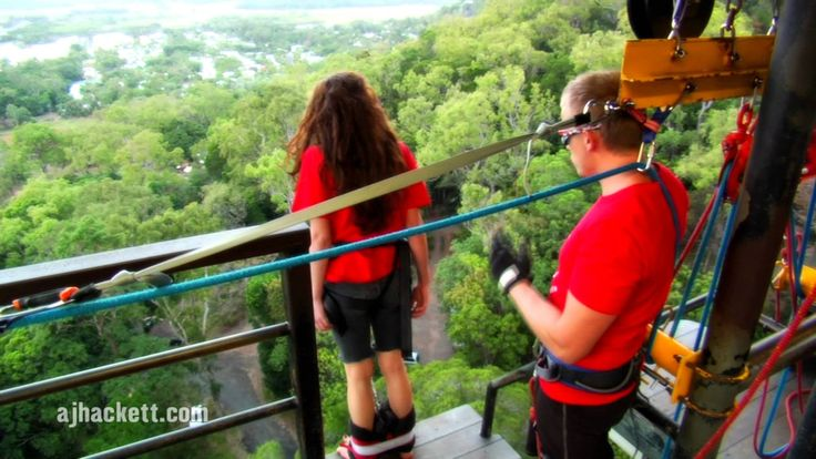 The only Bungy site on the planet showcases their 16 different jump styles of our 50m tower in the rainforest just out of Cairns, Australia ! Check them out ...