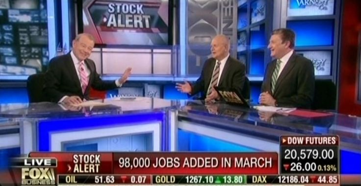"""Fox Business host Stuart Varney admitted on air to a clear double standard on how he and Fox cover the monthly jobs report for presidents of different political parties. Less than an hour after a disappointing jobs report was released by the Bureau of Labor Statistics (BLS), Varney revealed that if a similarly """"weak"""" report had been published u"""