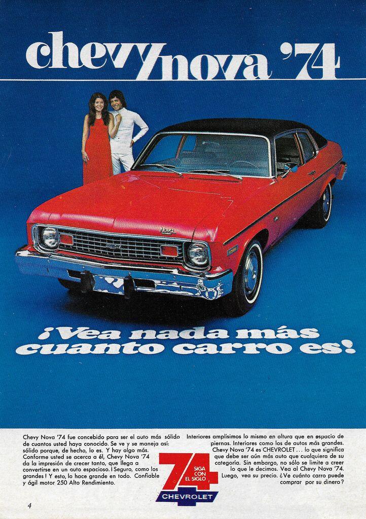 1974 Chevrolet Nova Mexico Chevrolet Nova Chevy Nova Chevrolet