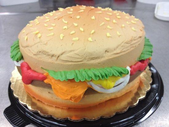 Hamburger Cake 8
