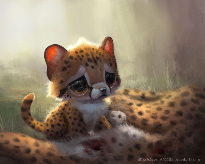 Anime Baby Cheetah