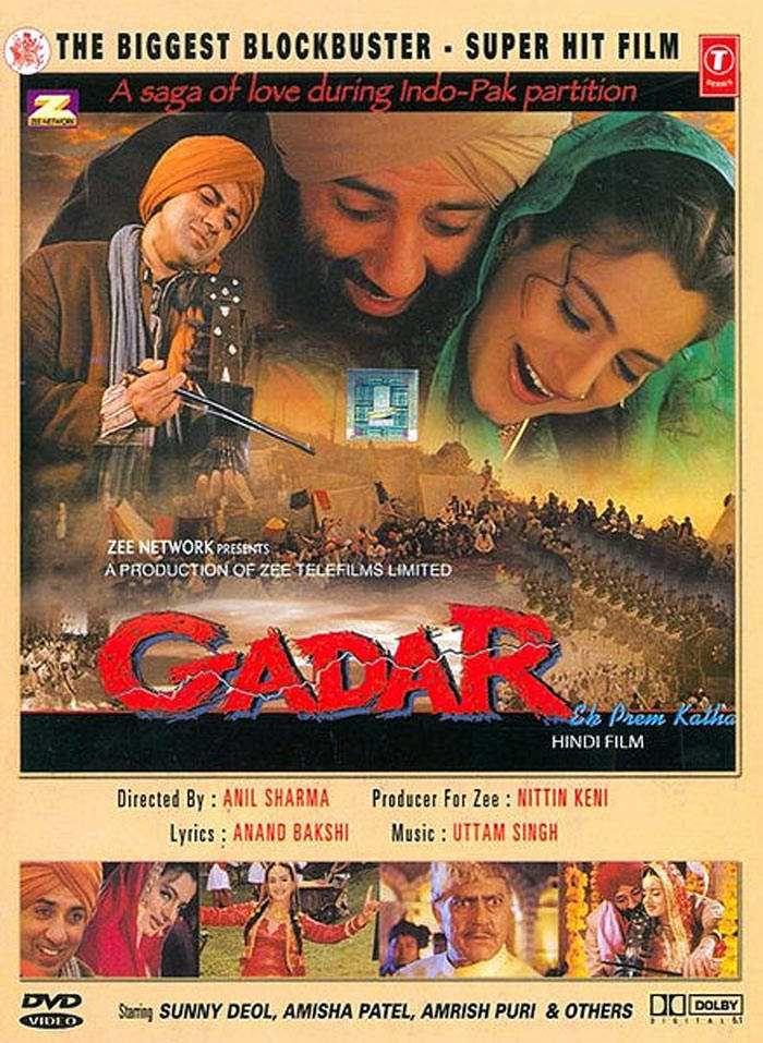 Gadar-Ek Prem Katha 2001 Hindi 720p DvDRip