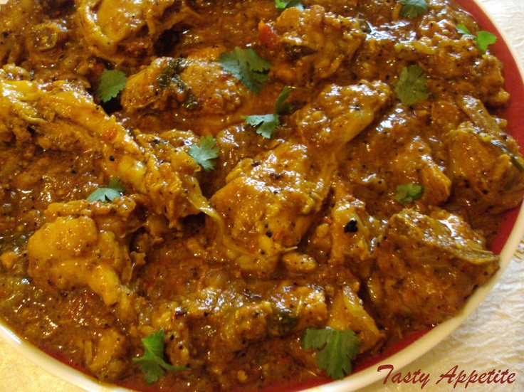 Love the flavors that come alive in this Pepper Chicken Masala