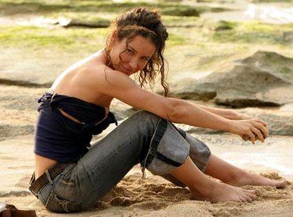 Les dessous d'Evangeline Lilly aident les autres...  Lost: Evangeline Lilly