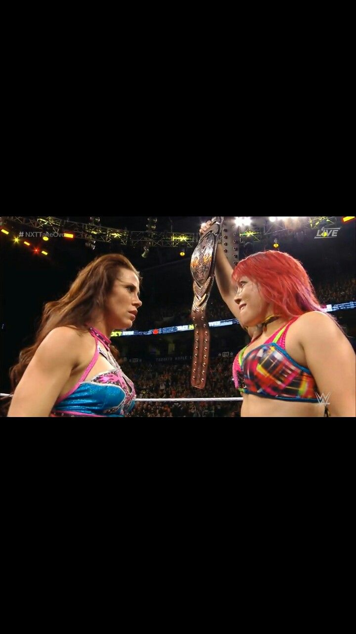 Asuka retains the NXT Women's Championship at NXT Takeover Toronto but I hope this isn't the last time we will see Mickie James