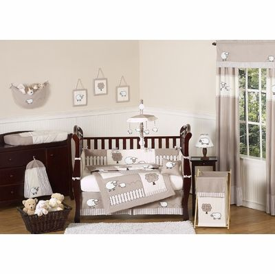 Lamb Crib Bedding Collection