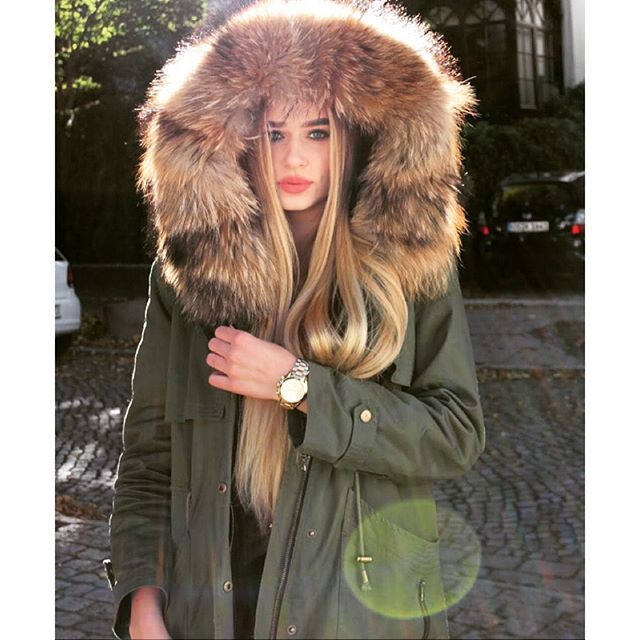64 best Fur Parkas & Parkas with fur images on Pinterest | Online ...