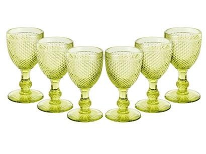 Conjunto de Taças para Vinho 6 Peças - Bon Gourmet Bico de Jaca: Taça Para, Copo De, Taças Para, De Taças