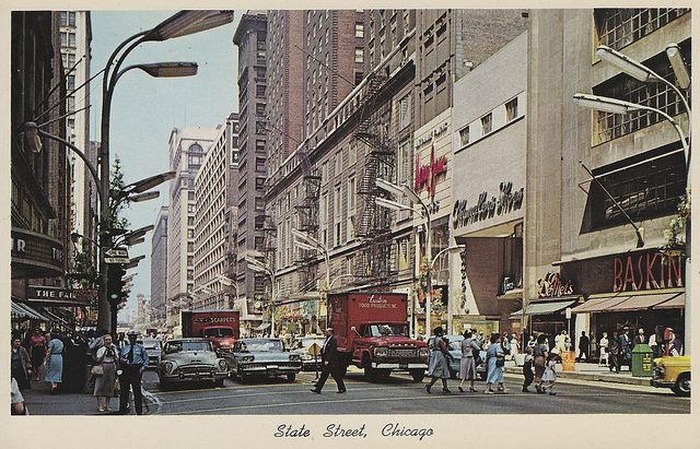 State Street, Chicago by the_mel, via Flickr