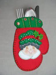 Resultado de imagen para adornos navideños en paño lency