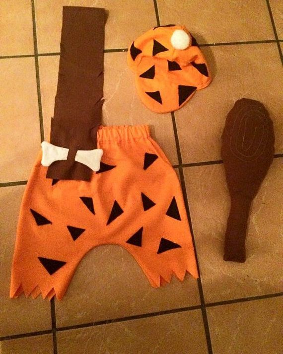 Bam bam costume boys costume bam bam flintstone by PookieWear