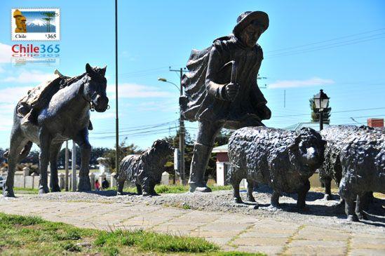 Monumento al Ovejero. Punta Arenas