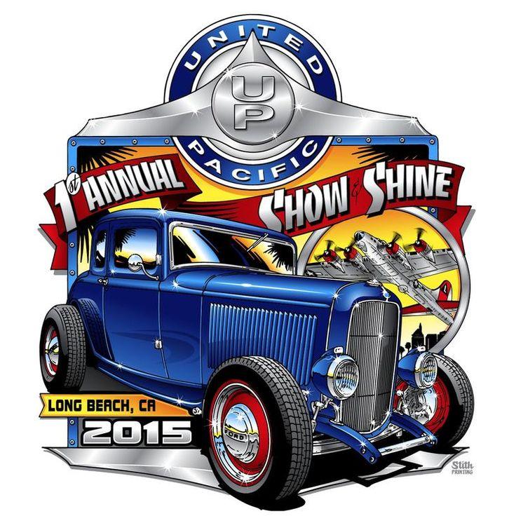 163 best Car Show tshirt designs images on Pinterest  Automotive art Cars and Vintage cars